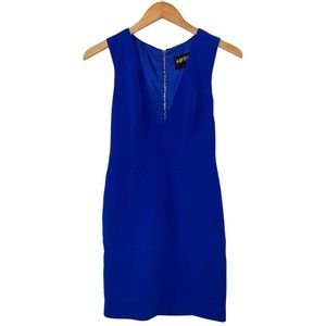 Abyss by Abby Bright Royal Blue Sleeveless Dress